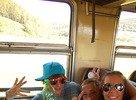 Bažant Pohoda 2010 - cesta vlakom