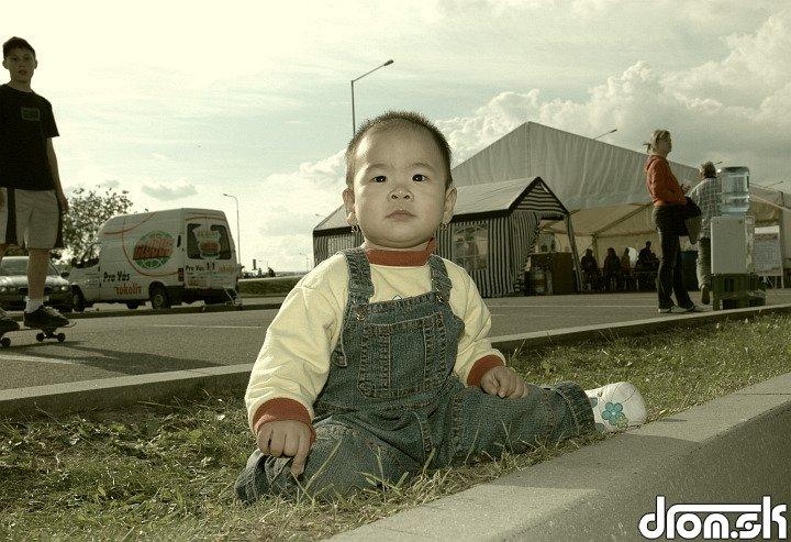 malý číňanko