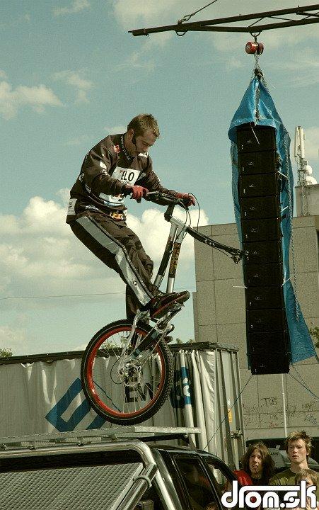 Martin Šimůnek - na jednom kolese