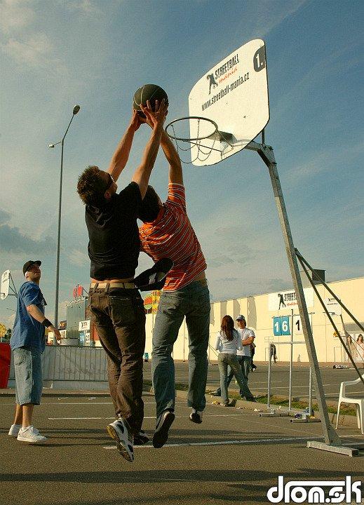 mini zápas v StreetBall-e