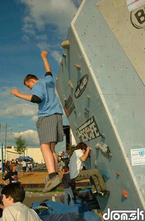mladí lezci :)