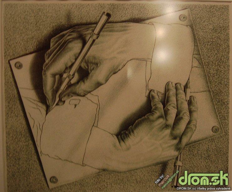 Escher - Drawing Hands