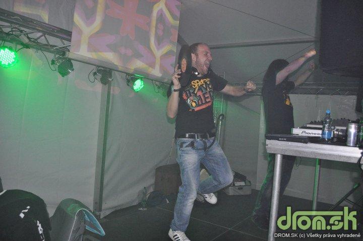 Easthetic 2010 - DJ Andrej Čapek a B-Complex