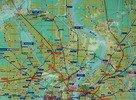 mapa metra (K)