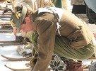 Lyžovačka v dobových kostýmoch