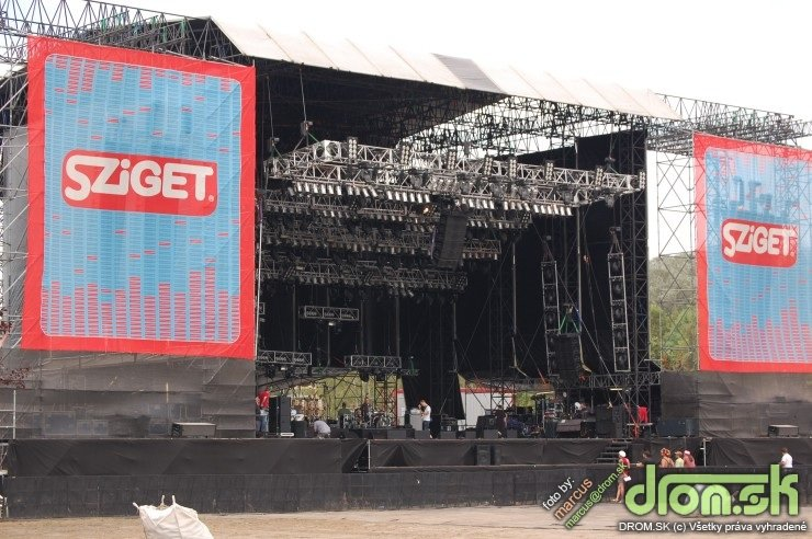Sziget 2008 - Main Stage