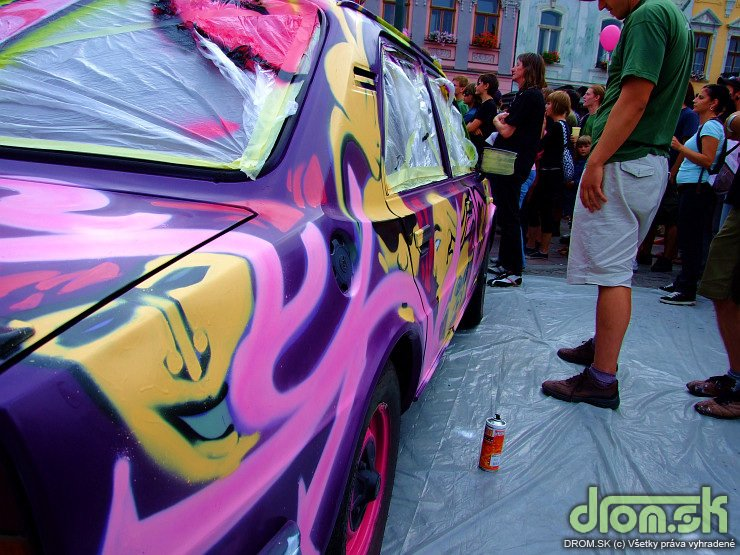 T-mobile Party grafit Skoda